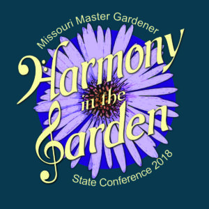 The logo for the Missouri Master Gardener 2018 State Conference