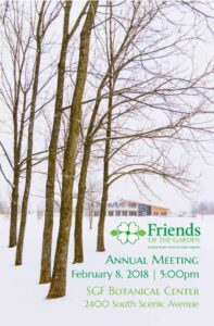 Artwork for the FOG Annual Meeting for 2018 - Photo by Aaron J. Scott