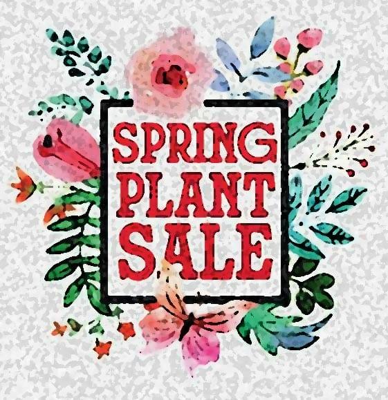 Master Gardeners of the Ozarks Spring Plant Sale Logo